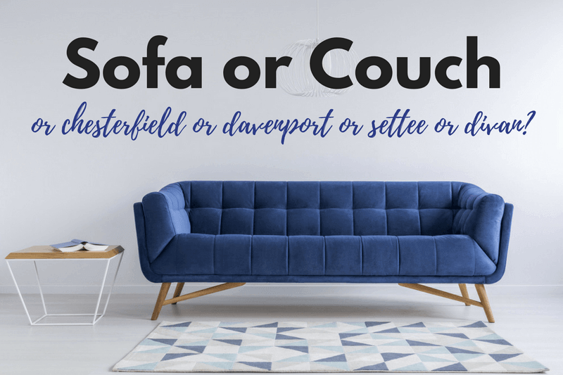 Fine Sofa Or Couch Grammar Girl Pdpeps Interior Chair Design Pdpepsorg