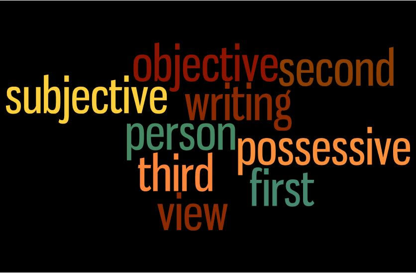 How to write only in 3rd person, is my line considered third person?
