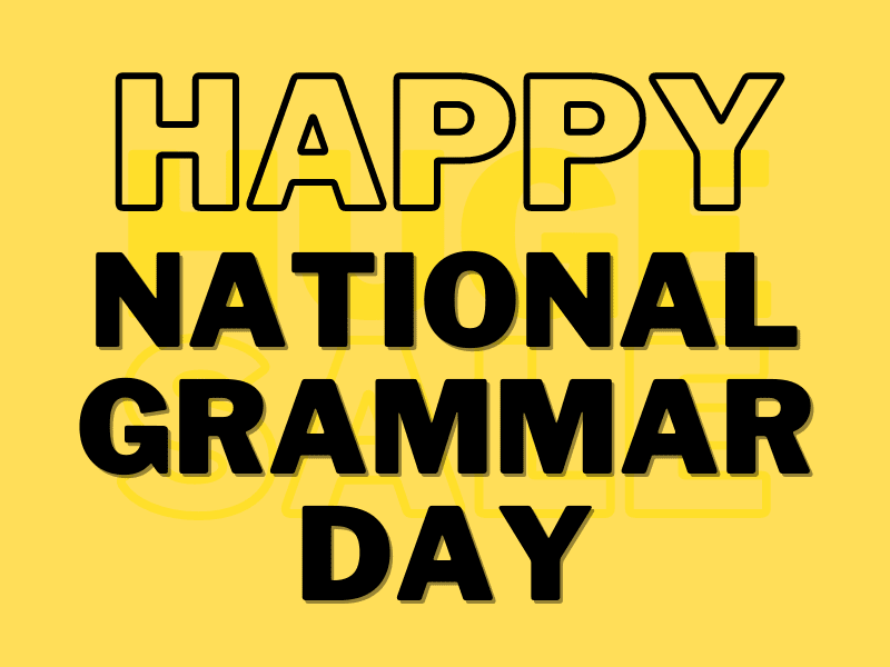 The History of National Grammar Day