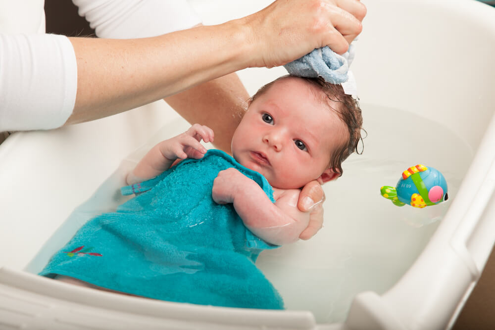 Tips for Bathing Your New Baby