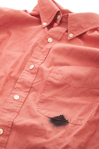 how to remove set in ink stains from clothes