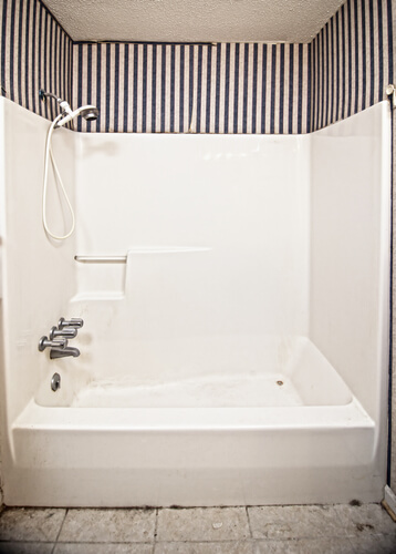 Magnificent Plastic Shower Wall Contemporary - Bathroom with ...
