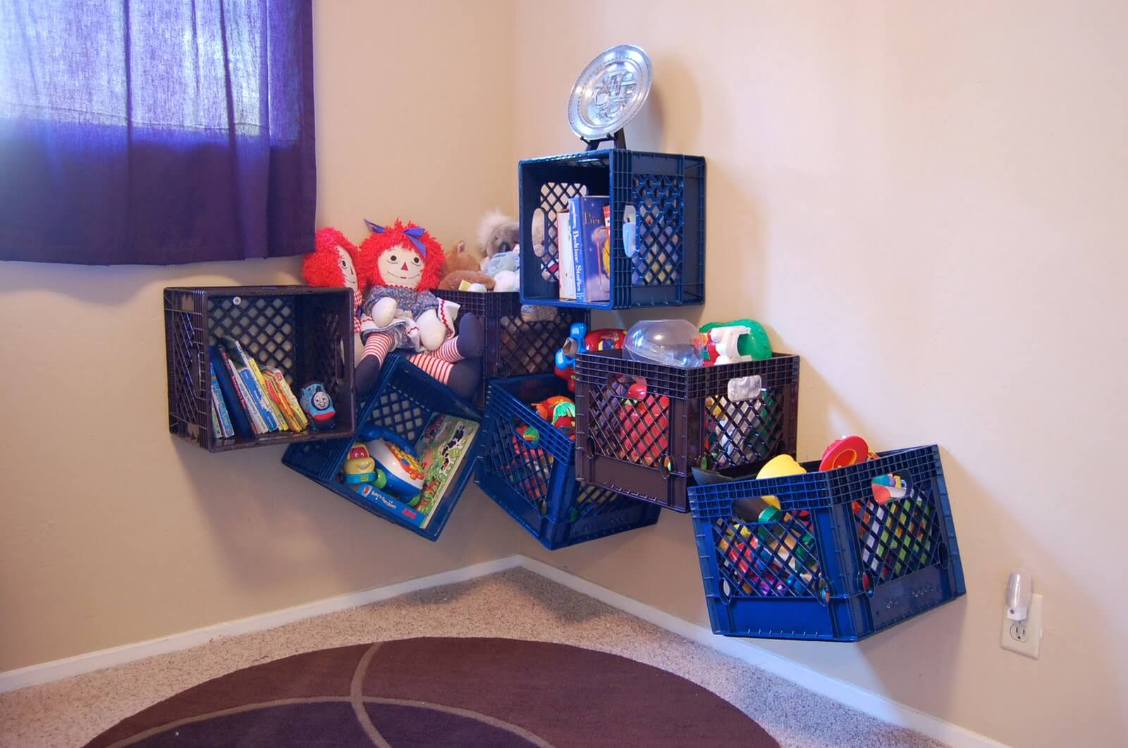 & 7 Creative Toy and Craft Storage Solutions