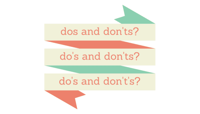 The Dos and Don'ts of 'Dos and Dont's' | Grammar Girl