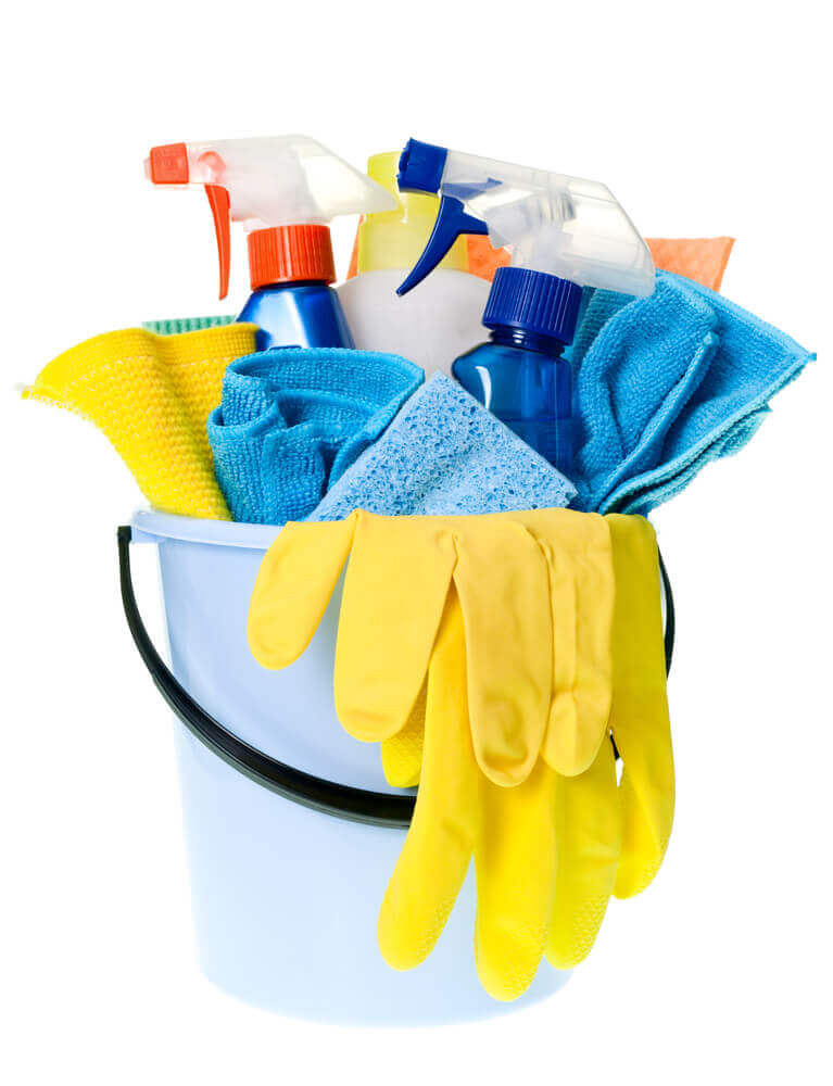 how to obsessively clean your house