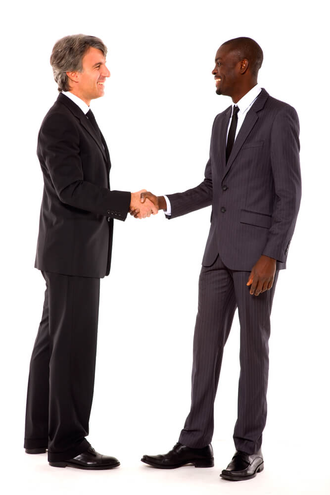 American Auto Finance >> North American Business Handshaking
