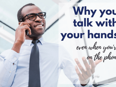 why do people talk with their hands