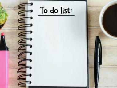 a simple to-do list