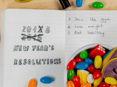 image of new years resolutions not met