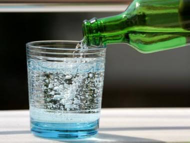 image of sparkling water