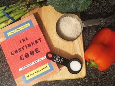 confident cook book cover