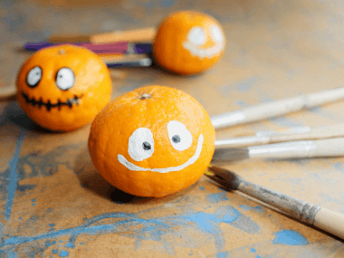 decorated pumpkins representing halloween ideas