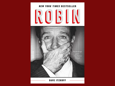 The cover of Dave Itzkoff's book Robin