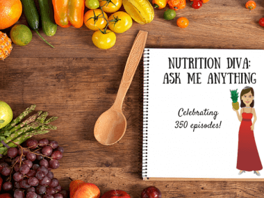 Ask Me Anything with Nutrition Diva