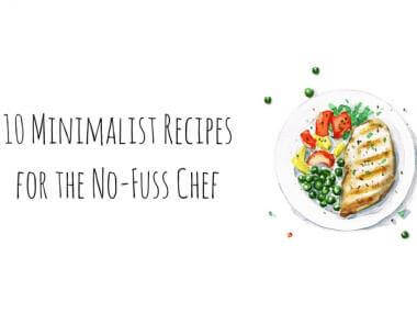 minimalist recipes