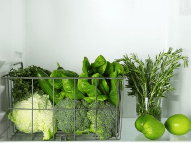 tips for storing vegetables