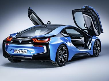 BMW i8 Parallel Hybrid Sports Car