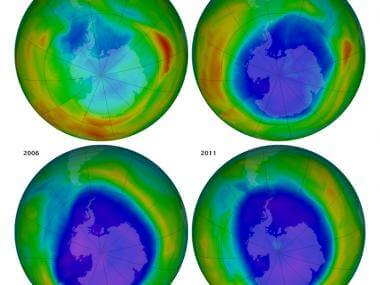 Why Is the Ozone Hole Shrinking?