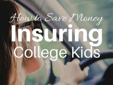 What Insurance College Kids Need and Tips to Save