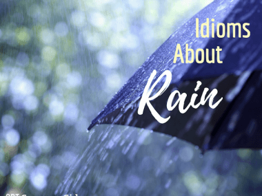 idioms about rain