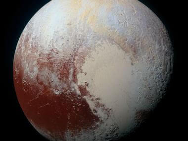 image of pluto from new horizons