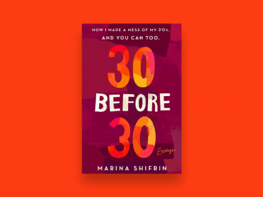 30 before 30 book cover