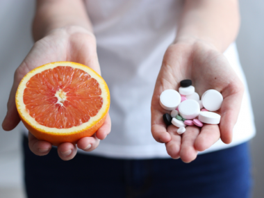Orange versus supplements image