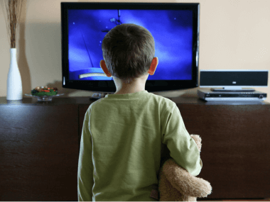 screen time for young children