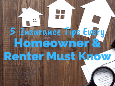 5 Tips Every Renter and Homeowner Should Know About Insurance