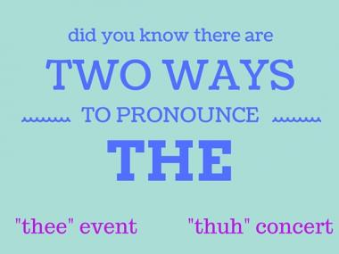 how to pronounce the