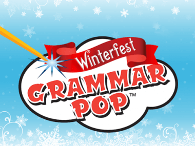 grammar pop winterfest iOs mobile game