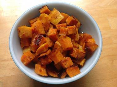 Roasted Butternut Sqush with Moroccan Spices