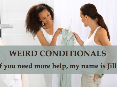 weird conditionals if-clauses