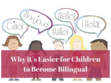 why can children become bilingual?