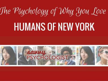 why you love Humans of New York