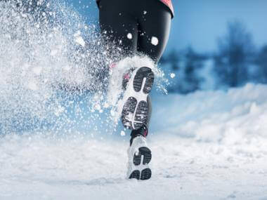 exercise with cold