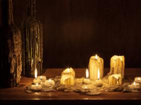 How to Keep Candles from Making a Waxy Mess