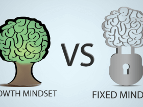 growth mindset vs fixed mindset image
