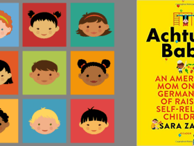 image of achtung baby book and children from diverse cultures