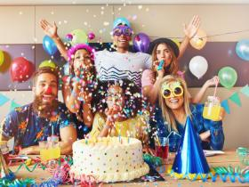 image of people partying