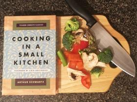 cooking in a small kitchen book cover