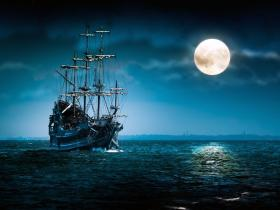 A pirate ship that could be a she.