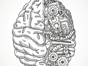 brain cartoon of memory