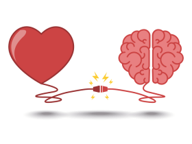 Heart and brain working together