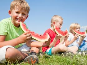 kids healthy summer