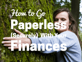 How to Go Paperless (Securely) With Your Finances