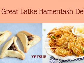 The Great Latke-Hamentash Debate