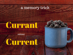 currant or current