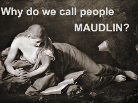 maudlin definition