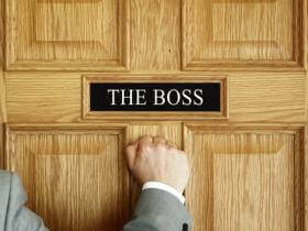 better relationship with boss